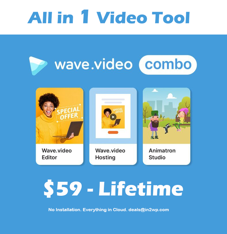 Wave Video Lifetime Deal - in2wp